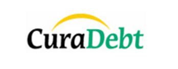 This image has an empty alt attribute; its file name is Curadebt-text-logo.png